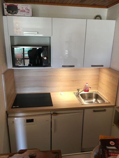 Open-plan kitchen Location Apartment 101179 Les 2 Alpes