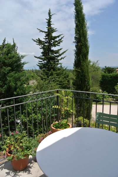 View from terrace Location Studio apartment 109489 Isle sur la Sorgue