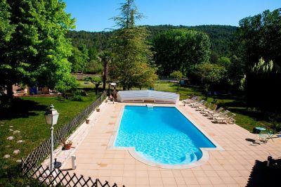 Swimming pool Location Villa 113594 Cotignac