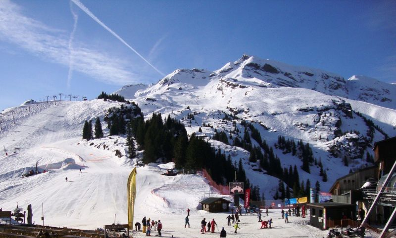View from the balcony Location Apartment 114936 Avoriaz