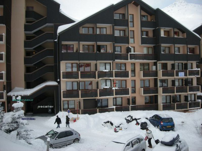 Parking Location Studio apartment 116682 Les Menuires