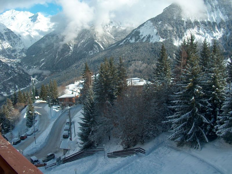 View from the balcony Location Apartment 68771 Courchevel