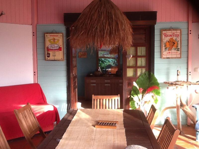View from terrace Location Villa 88363 Sainte Anne (Martinique)
