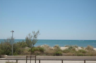 View from terrace Location Apartment 93299 La Grande Motte