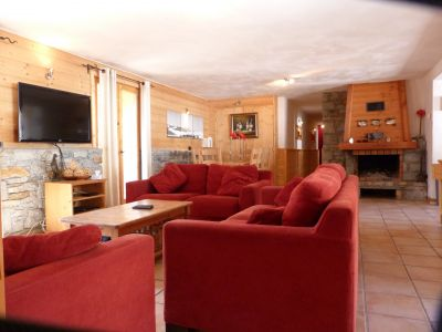 Living room Location Apartment 105464 Sainte Foy Tarentaise