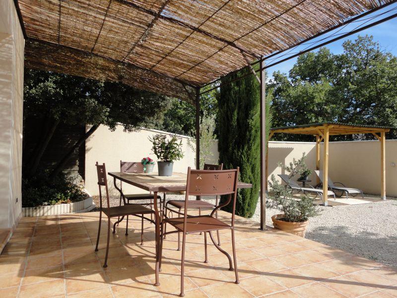 Terrace Location Self-catering property 106635 Châteauneuf-de-Gadagne