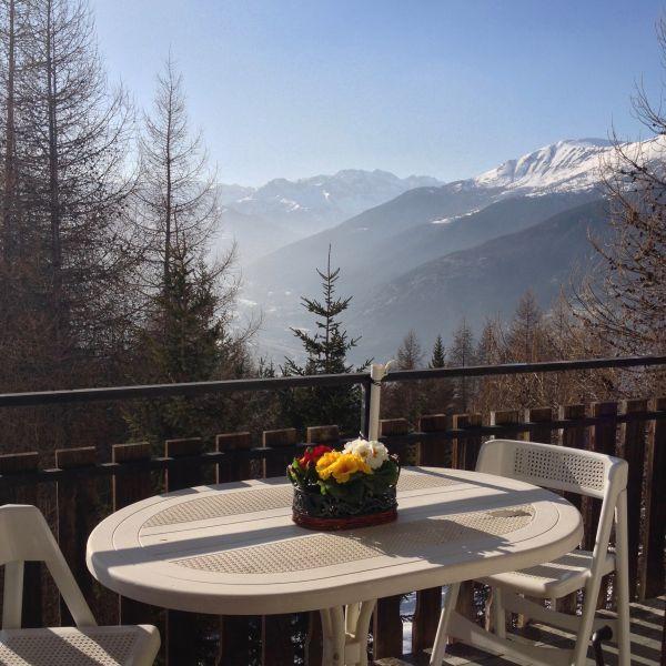View from terrace Location Apartment 108426 Sauze d'Oulx