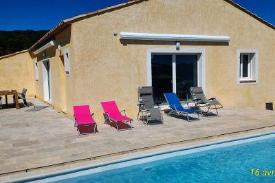 Outside view Location Villa 112780 Saint Maximin la Sainte Baume