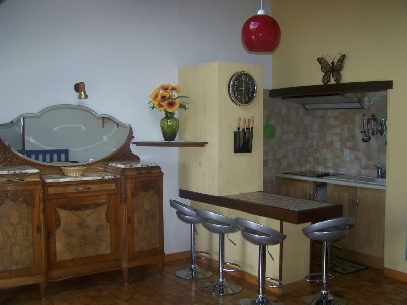Open-plan kitchen Location Self-catering property 115038 Dieulefit