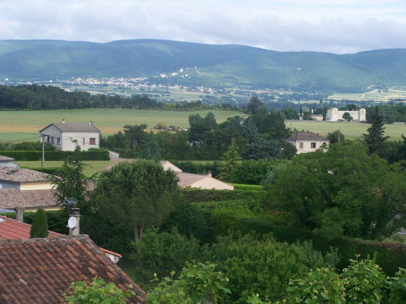 View from terrace Location Self-catering property 115038 Dieulefit