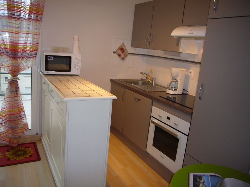 Open-plan kitchen Location Studio apartment 117728 Fort Mahon