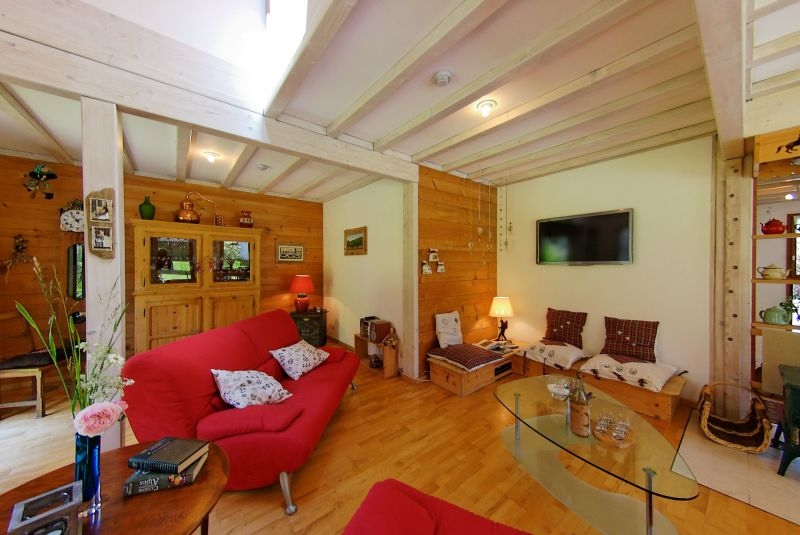 Living room Location Chalet 117973 Morzine