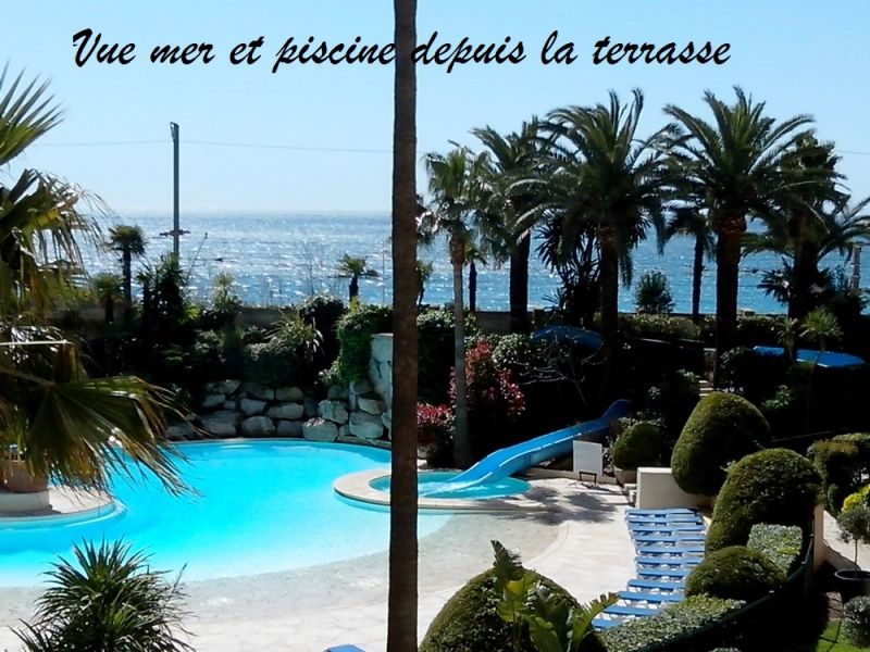 View from terrace Location Apartment 82546 Cannes