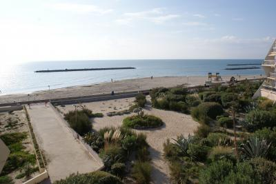 View from the balcony Location Flat 97909 Palavas-les-Flots