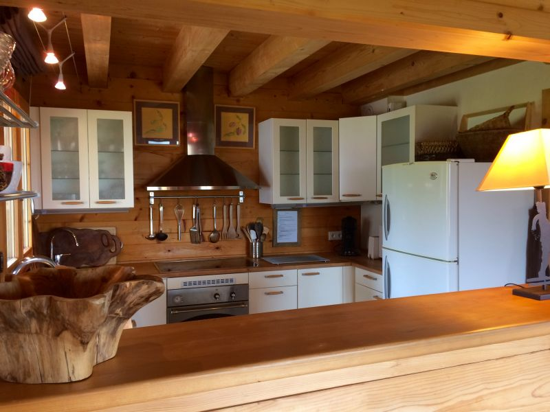 Open-plan kitchen Location Chalet 2355 Praz de Lys Sommand