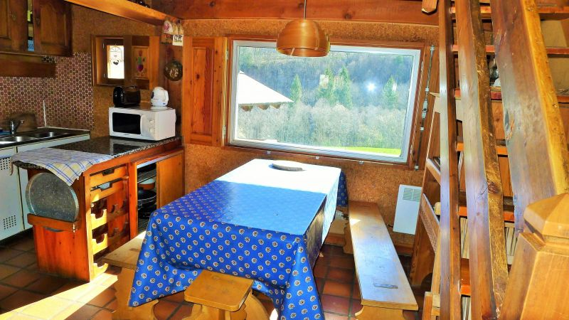 Open-plan kitchen Location Chalet 956 Les Contamines Montjoie