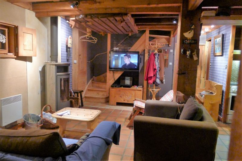 Living room Location Chalet 956 Les Contamines Montjoie