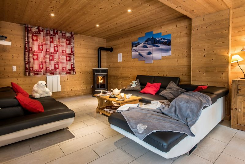 Sitting room Location Chalet 100576 Les Menuires