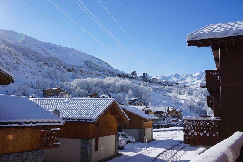 View from the balcony Location Chalet 100576 Les Menuires