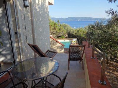 View from terrace Location Apartment 114070 Porto Pollo