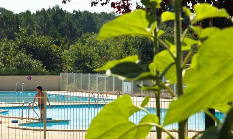 Swimming pool Location Mobile home 114101 Saint-Julien-en-Born