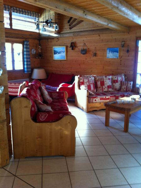Sitting room Location Chalet 66538 Le Grand Bornand