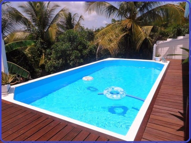 Swimming pool Location Self-catering property 71841 Sainte Anne (Guadeloupe)