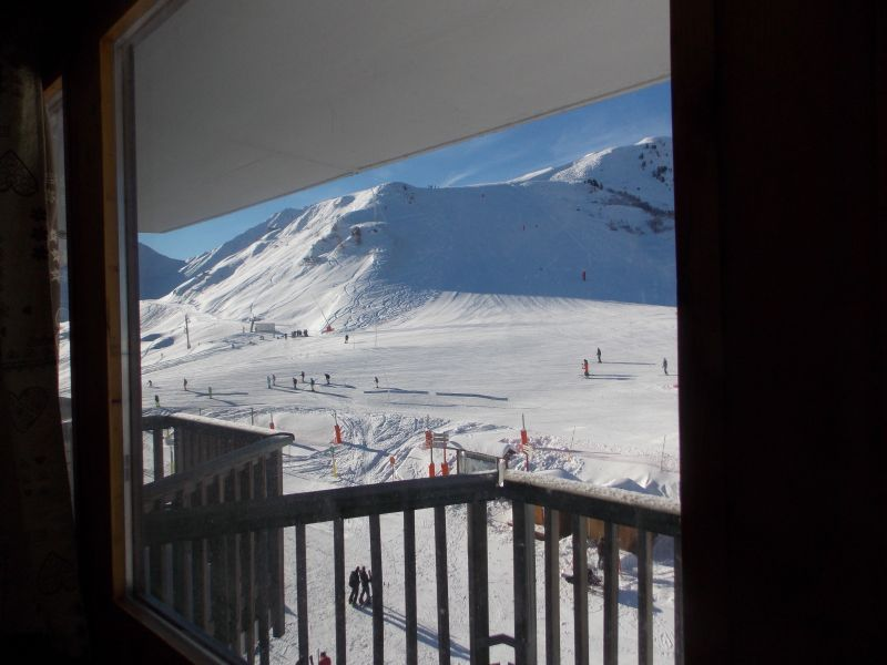View from terrace Location Studio apartment 79769 La Plagne