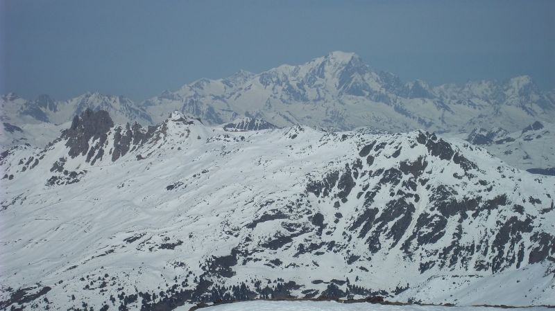 View from the balcony Location Apartment 90273 Val Thorens