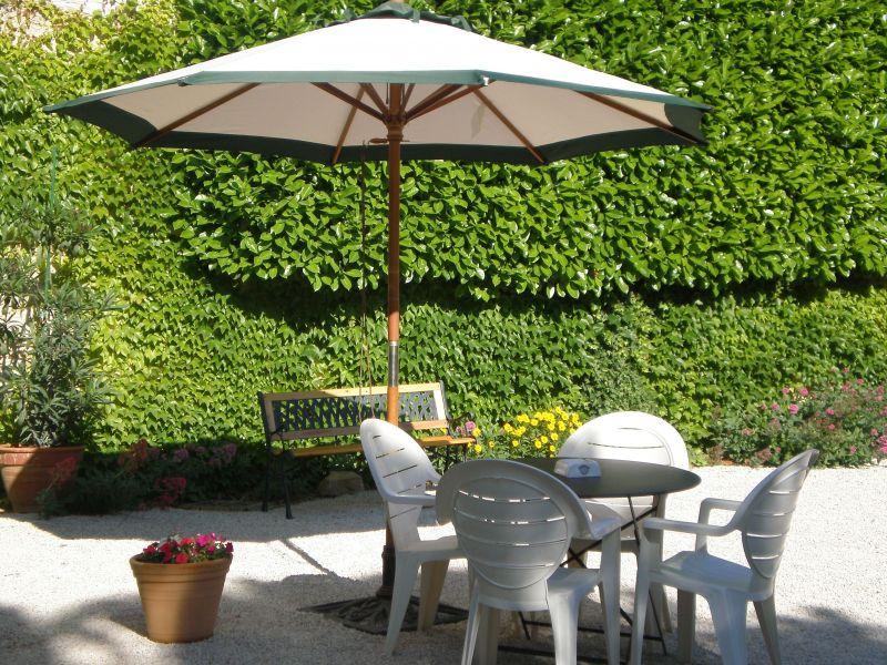 Garden Location Self-catering property 113447 Sainte-Cécile-les-Vignes