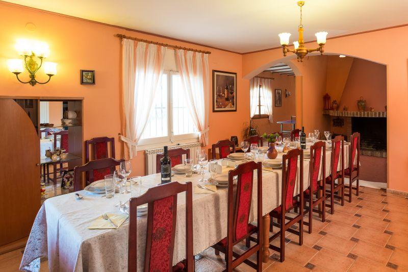 Dining room Location Villa 72356 Sitges