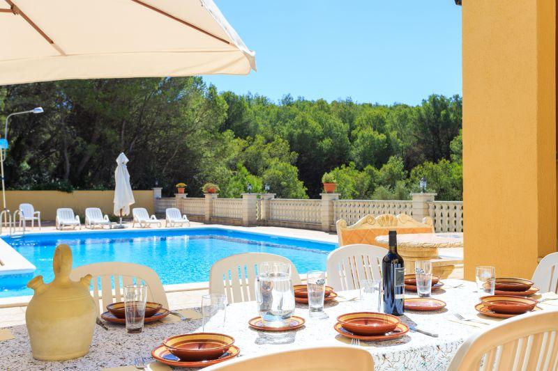 Swimming pool Location Villa 72356 Sitges
