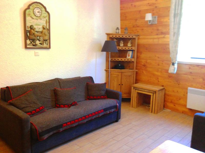 Living room Location Studio apartment 74661 Serre Chevalier