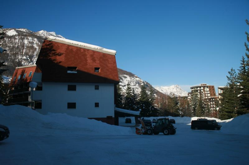 Parking Location Studio apartment 74661 Serre Chevalier