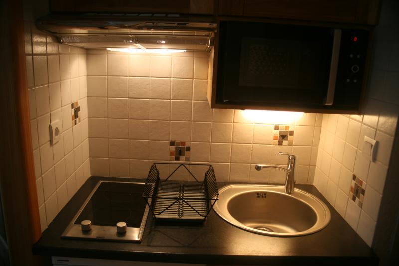 Kitchenette Location Studio apartment 74661 Serre Chevalier
