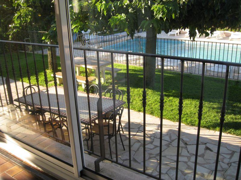View from terrace Location Villa 78620 Saint Tropez