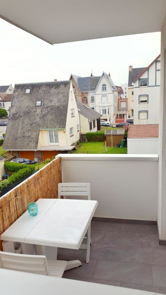 View from the balcony Location Studio apartment 97080 Wimereux