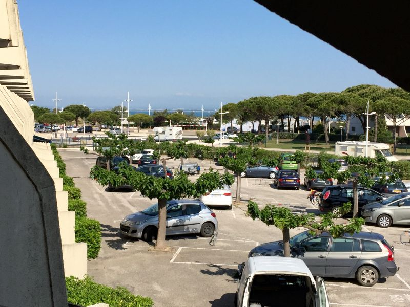 View from terrace Location Studio apartment 98176 Port Camargue