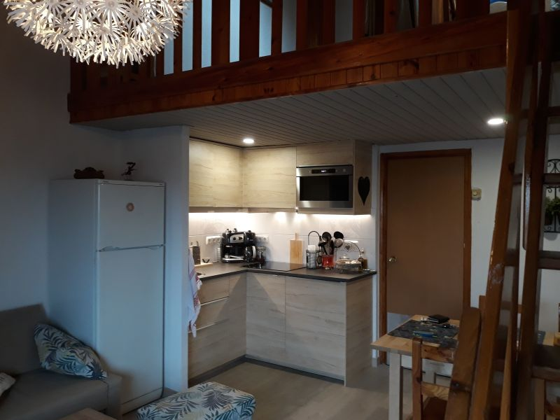 Open-plan kitchen Location Studio apartment 113736 Pas de la Casa