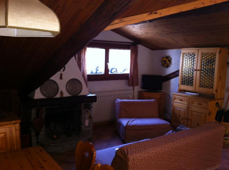 Living room Location Apartment 79781 Sauze d'Oulx