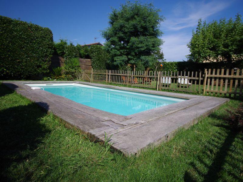 Swimming pool Location House 88875 Biarritz