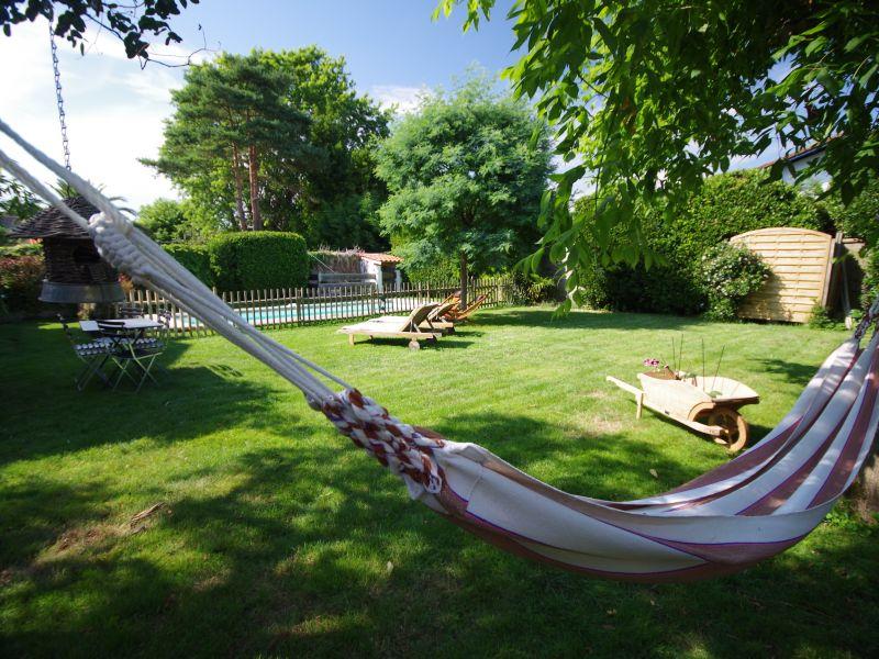 Garden Location House 88875 Biarritz