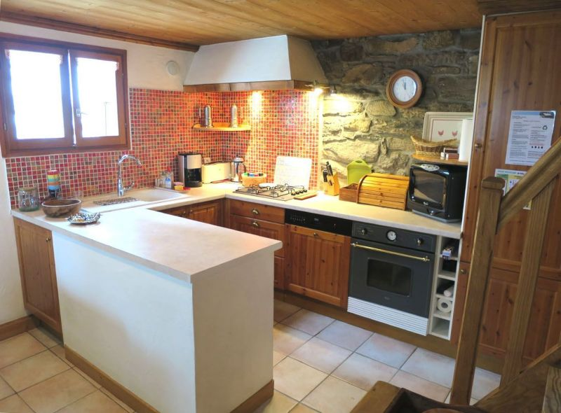 Open-plan kitchen Location Chalet 89733 La Plagne