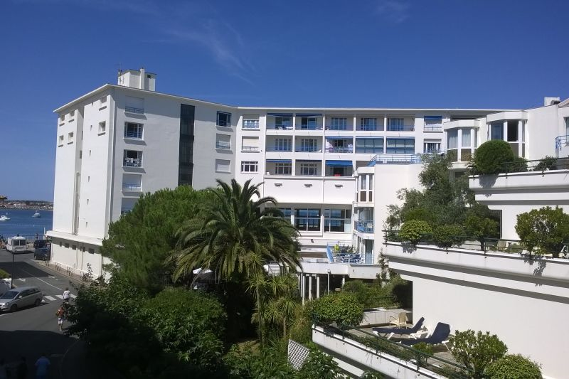 View from the balcony Location Apartment 89774 Saint Jean de Luz
