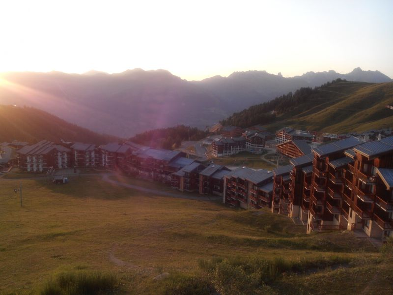 View from the balcony Location Studio apartment 101645 La Plagne