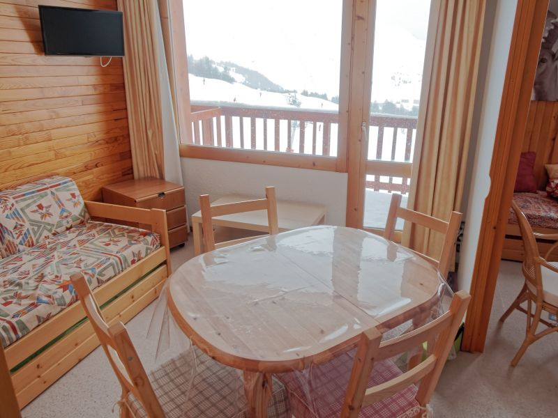 Sitting room Location Studio apartment 101645 La Plagne