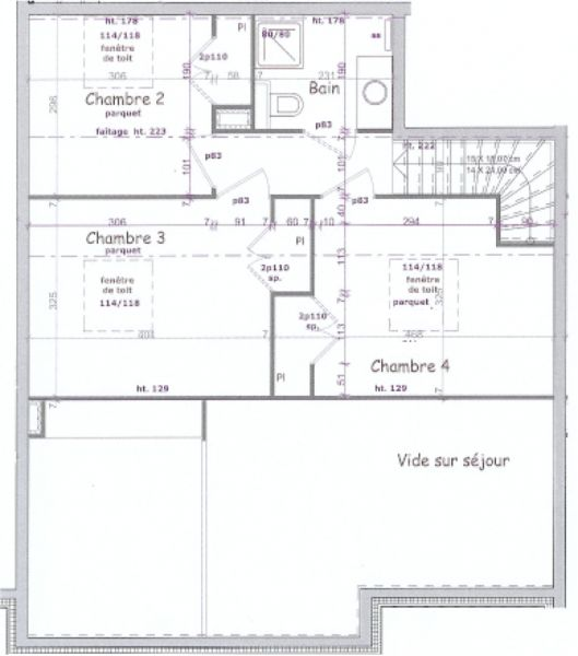Property map Location Apartment 106746 Les Arcs