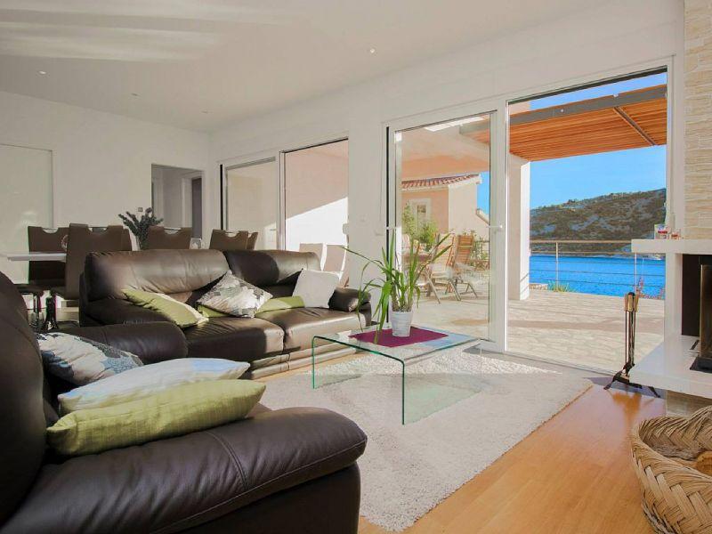 Living room Location House 112566 Trogir
