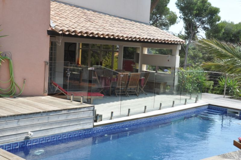 Swimming pool Location Villa 112762 Carry le Rouet