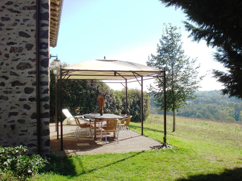 View from terrace Location Self-catering property 117039 Rochechouart